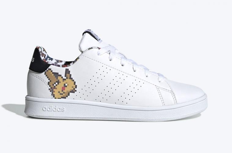 Pokemon x adidas Advantage - первый взгляд на кроссовки с Пикачу
