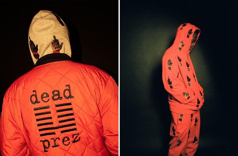 Supreme и хип-хоп дуэт dead prez выпустят совместную коллекцию