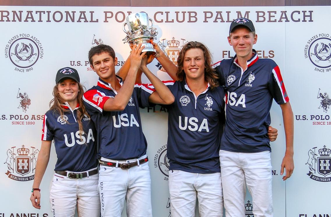 U.S. Polo Assn был поставщиком формы американской команды на турнире Westchester Cup 2019