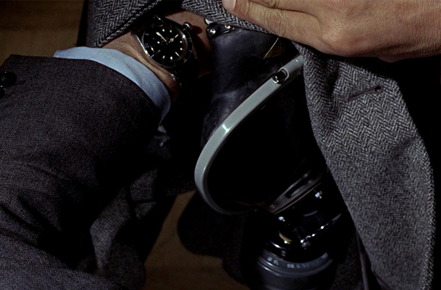 Часы Джеймса Бонда Rolex Submariner Ref. 6538 из фильма «Голдфингер»