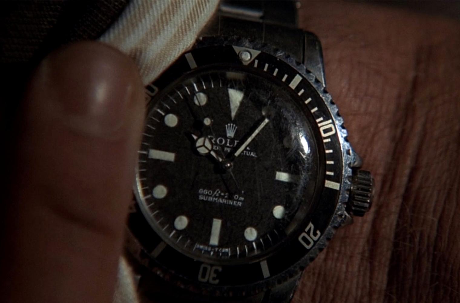 Часы Джеймса Бонда Rolex Submariner Ref. 5513 из фильма «Человек с золотым пистолетом»