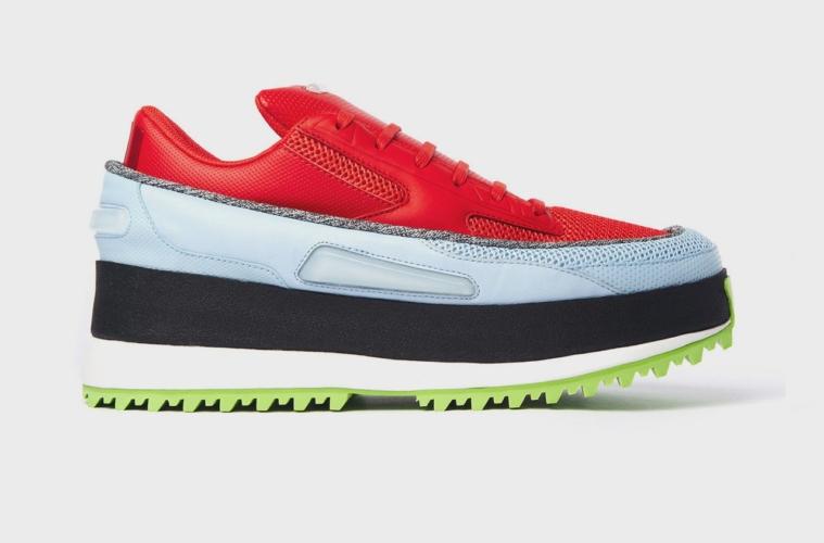 17 Кроссовки adidas x Raf Simons Platform Lace