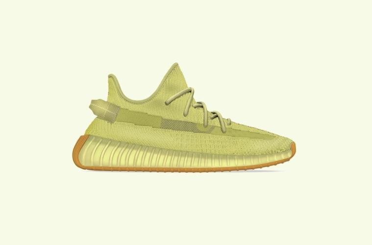 adidas Yeezy Boost 350 V2 «Sulphur» - первый взгляд