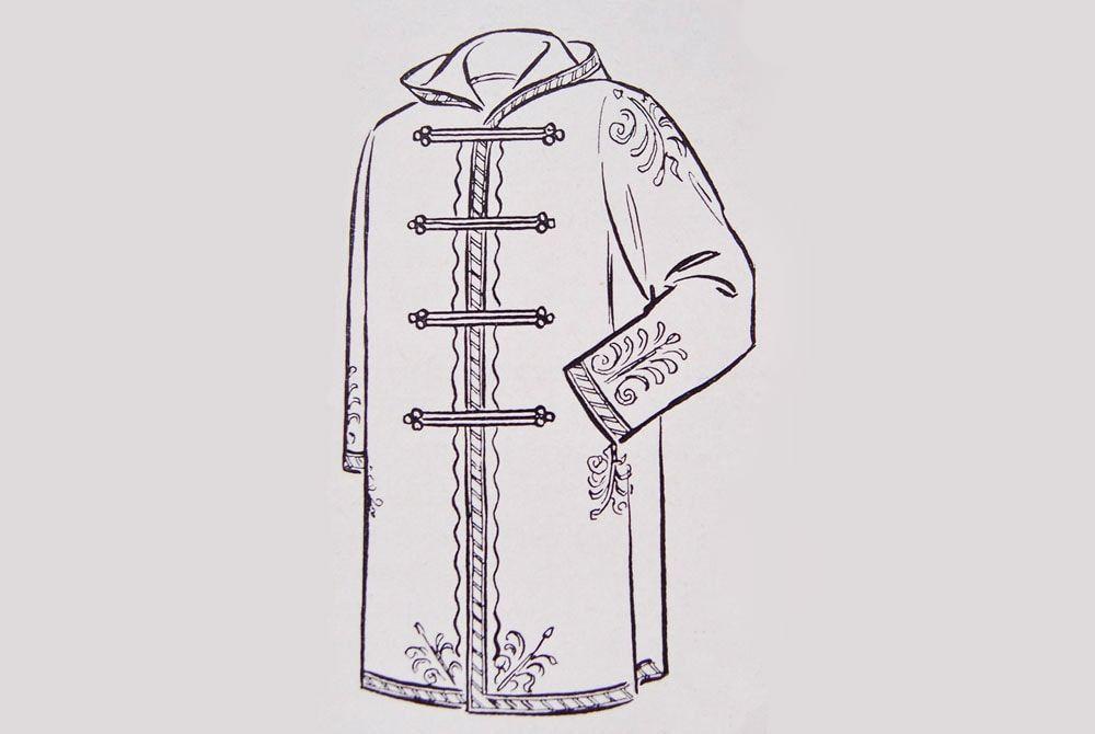 Польский сюртук прародитель пальто дафлкот