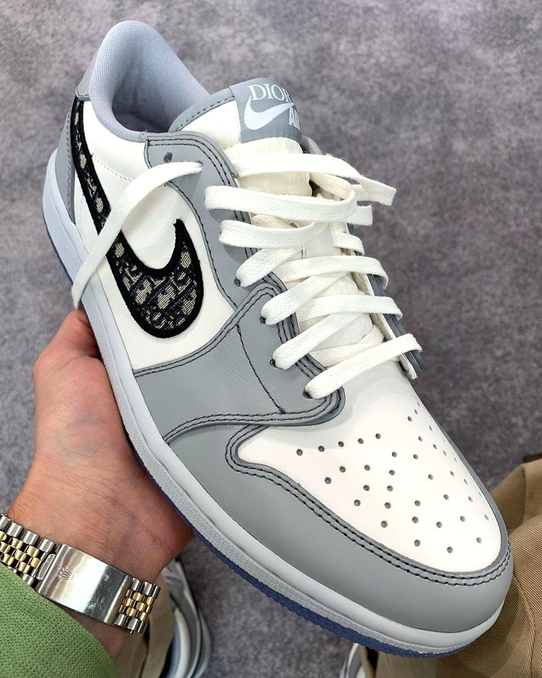 Dior x Air Jordan 1 Low - подробности релиза