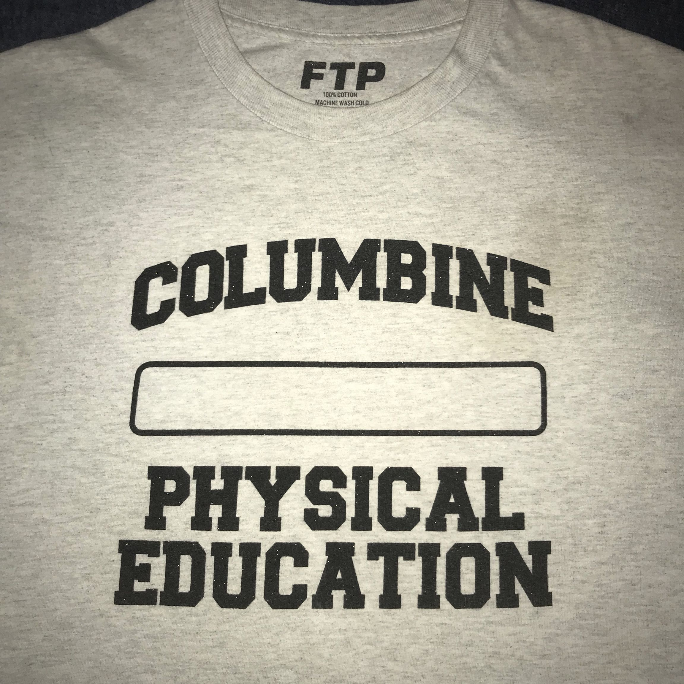 FTP Fuck The Population Columbine Tee