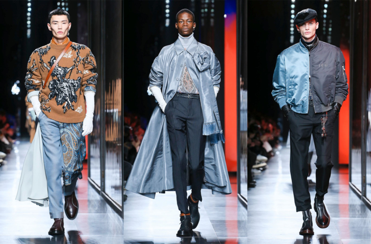 Коллекция Dior Fall/Winter 2020 Menswear