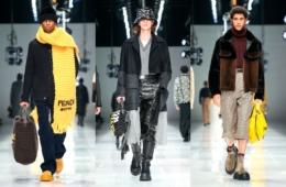 Коллекция Fendi Fall/Winter 2020 Menswear