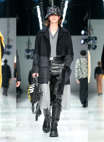 Коллекция Fendi Fall/Winter 2020 Menswear