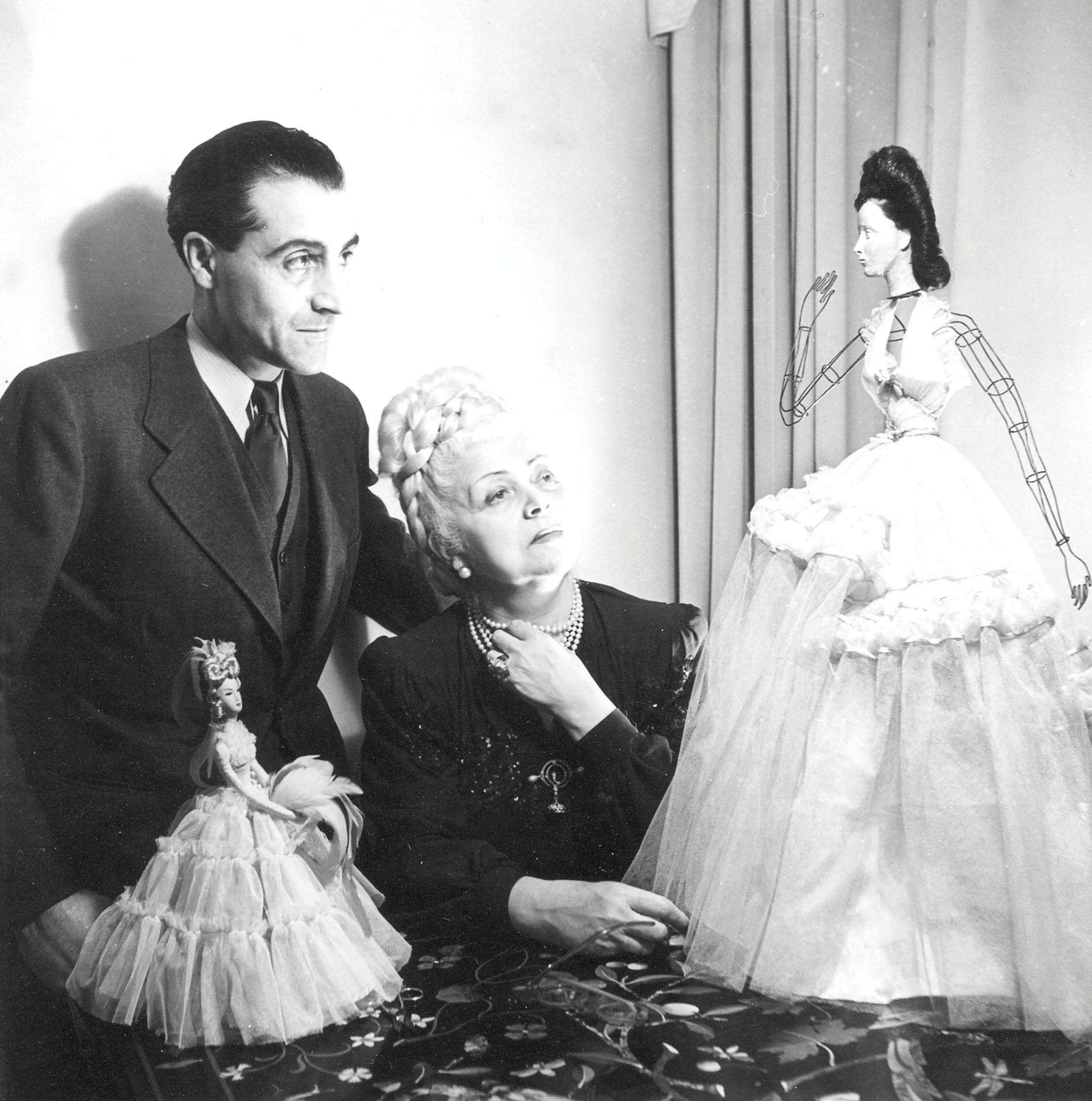Нина Риччи и Роберт Риччи, 1945