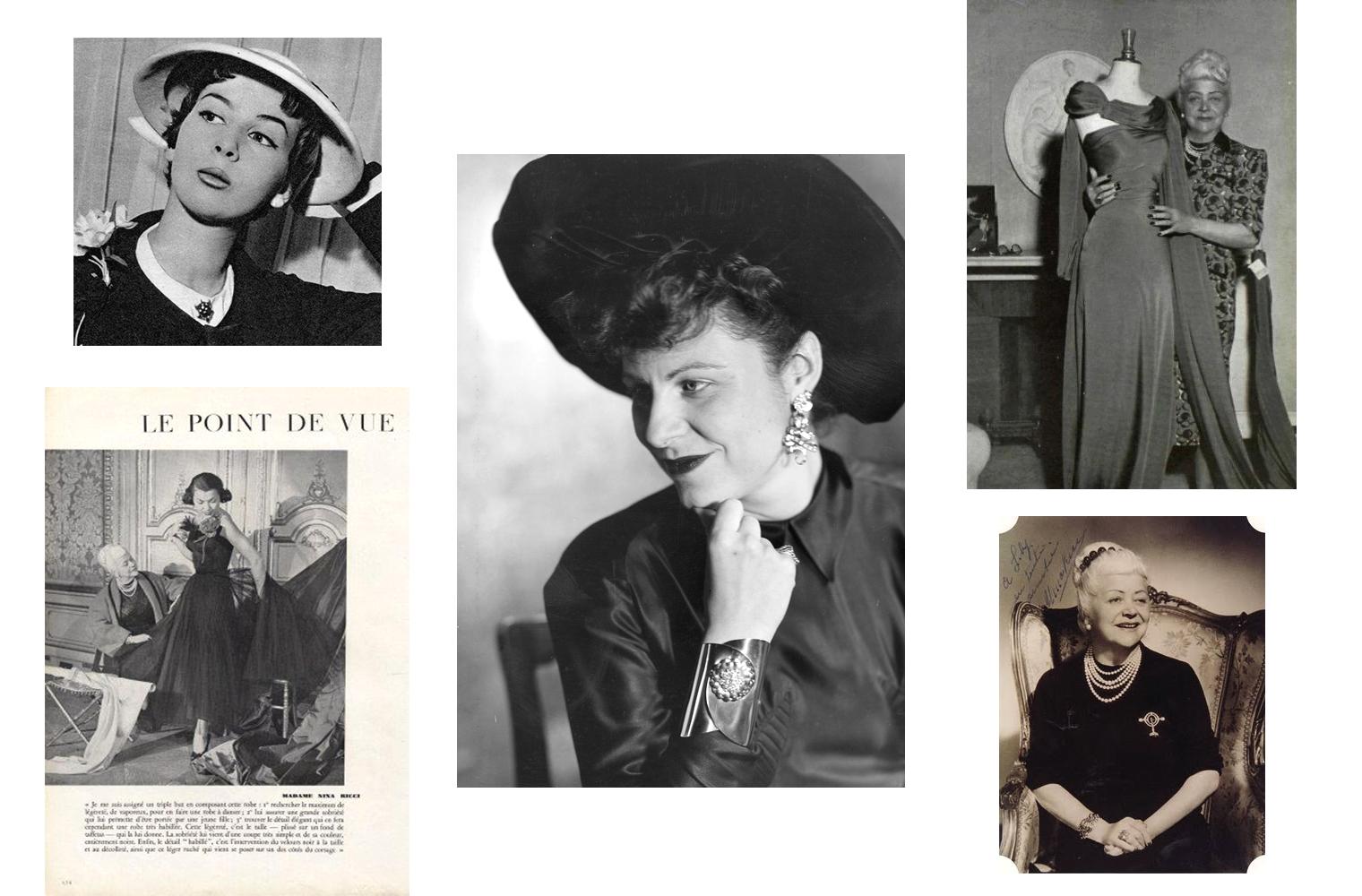 Нина Риччи - модельер и основательница Дома моды Nina Ricci