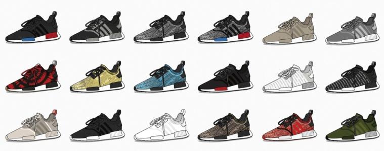 Все кроссовки adidas NMD