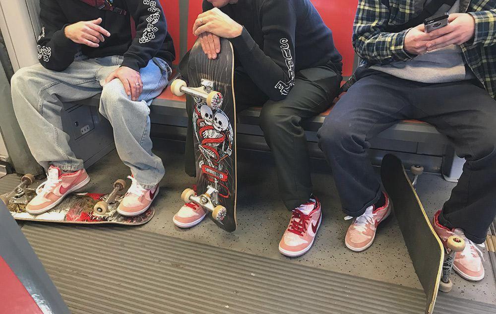 StrangeLove Skateboards x Nike SB Dunk Low дата релиза