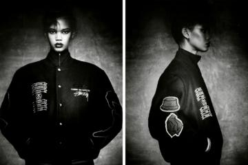 COMME des GARÇONS x Stussy Varsity Jacket