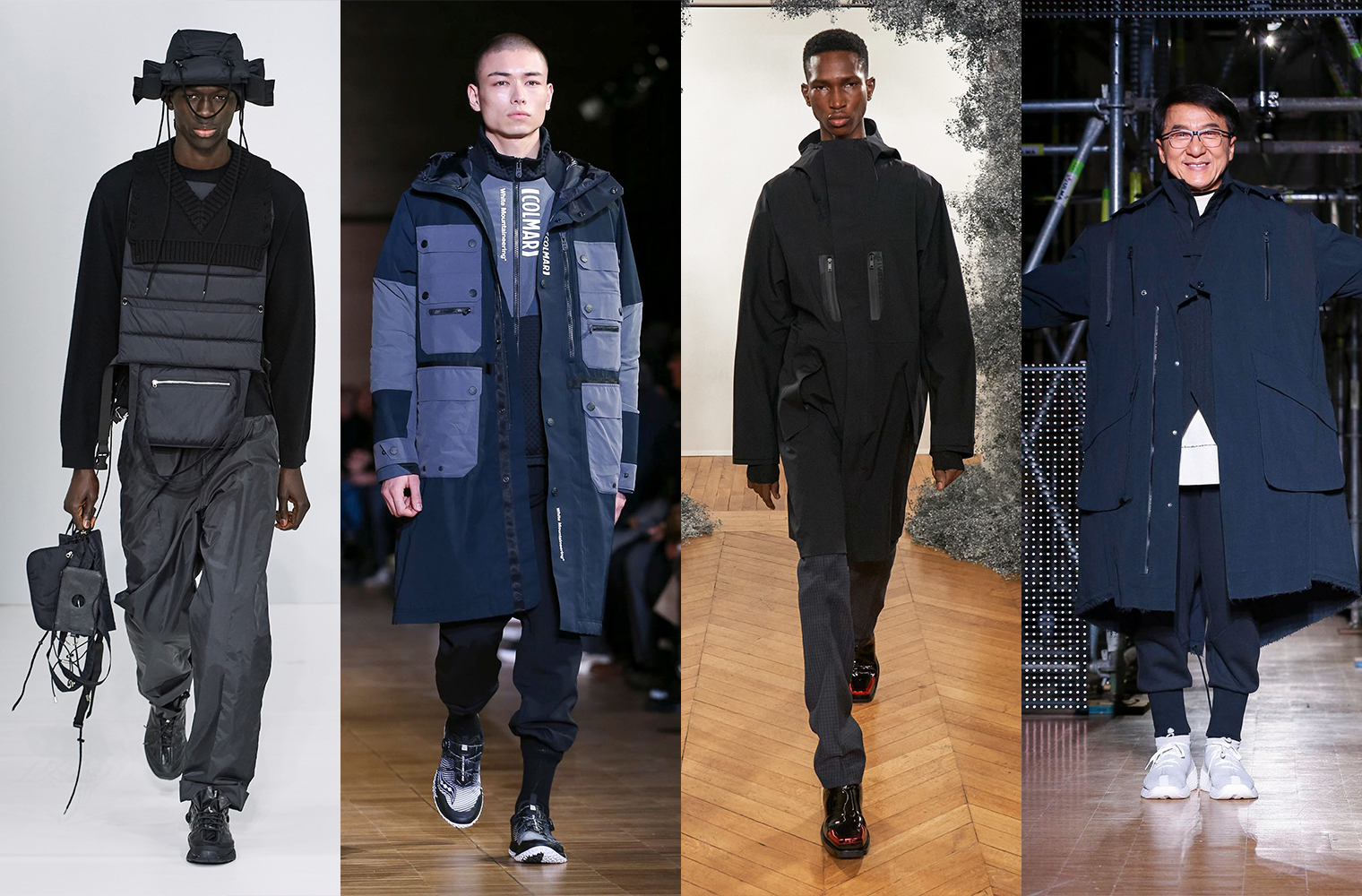 Теквир Craig Green, White Mountaineering, Givenchy, Li-Ning