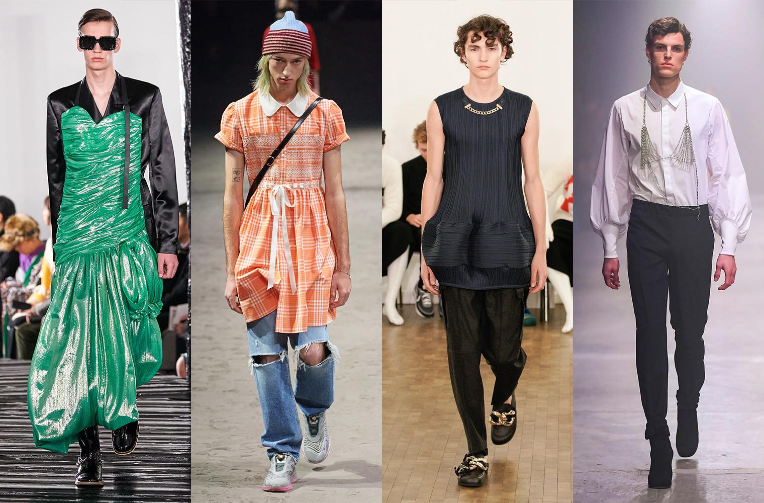 Женская одежда Loewe, Gucci, JW Anderson, Random Identities