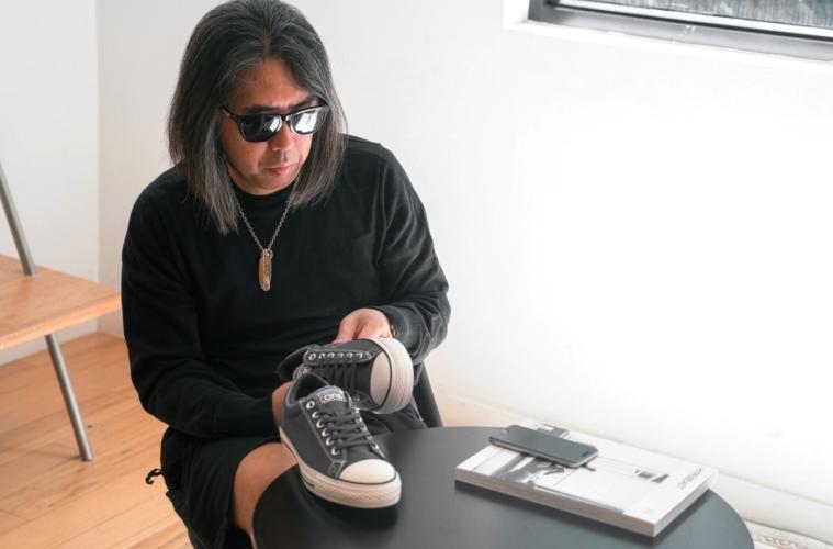 7 Moncler Fragment Hiroshi Fujiwara x Converse - детали релиза