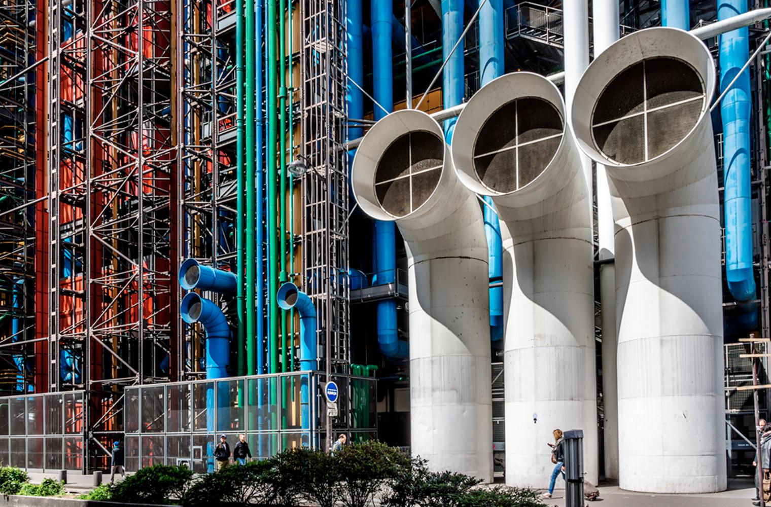 Культурный центр Жоржа Помпиду в Париже