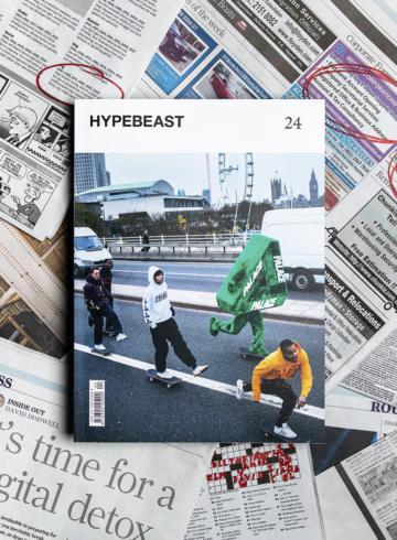 История журнала Hypebeast