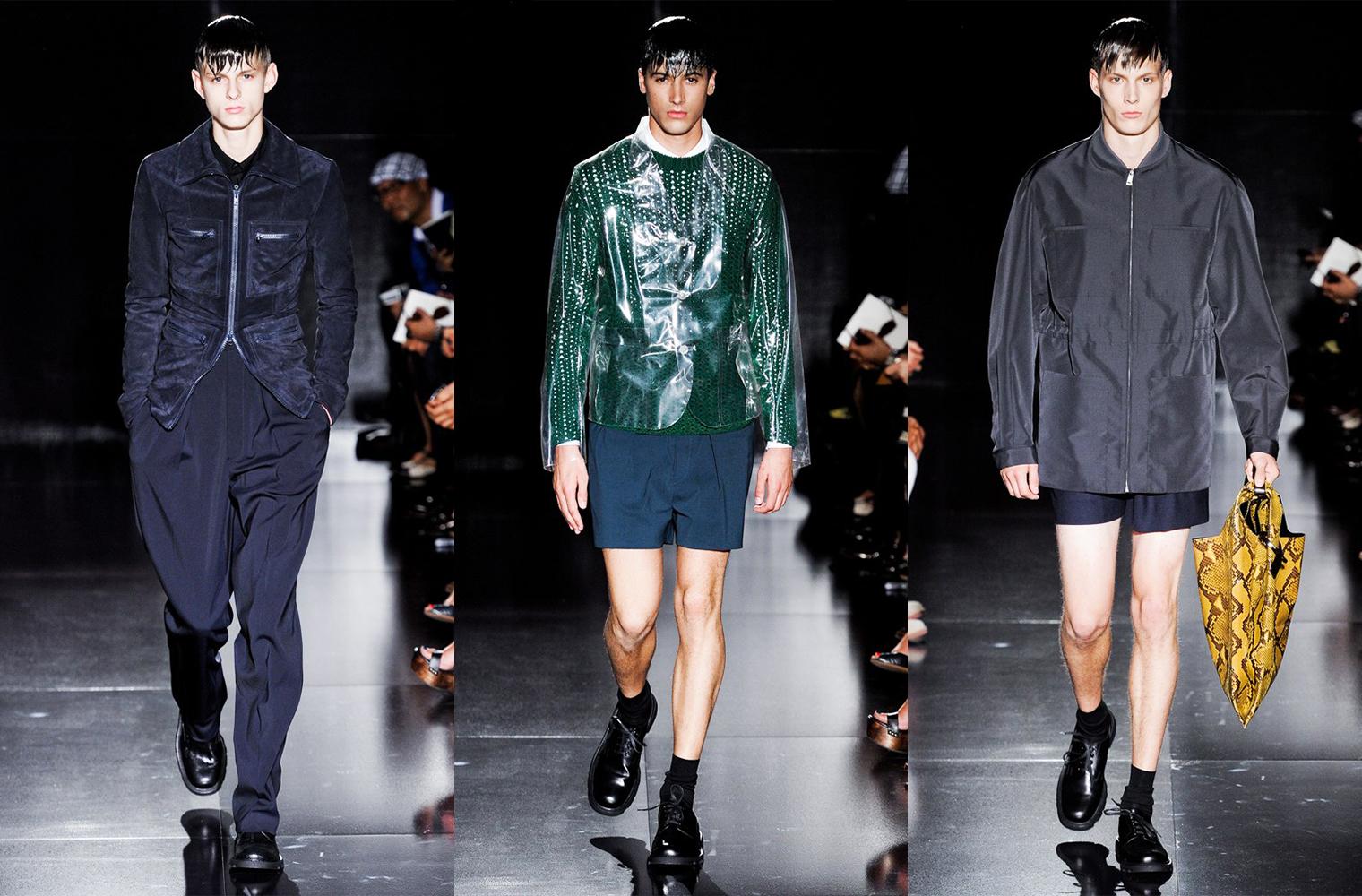Раф Симонс для Jil Sander Spring/Summer 2012 Menswear