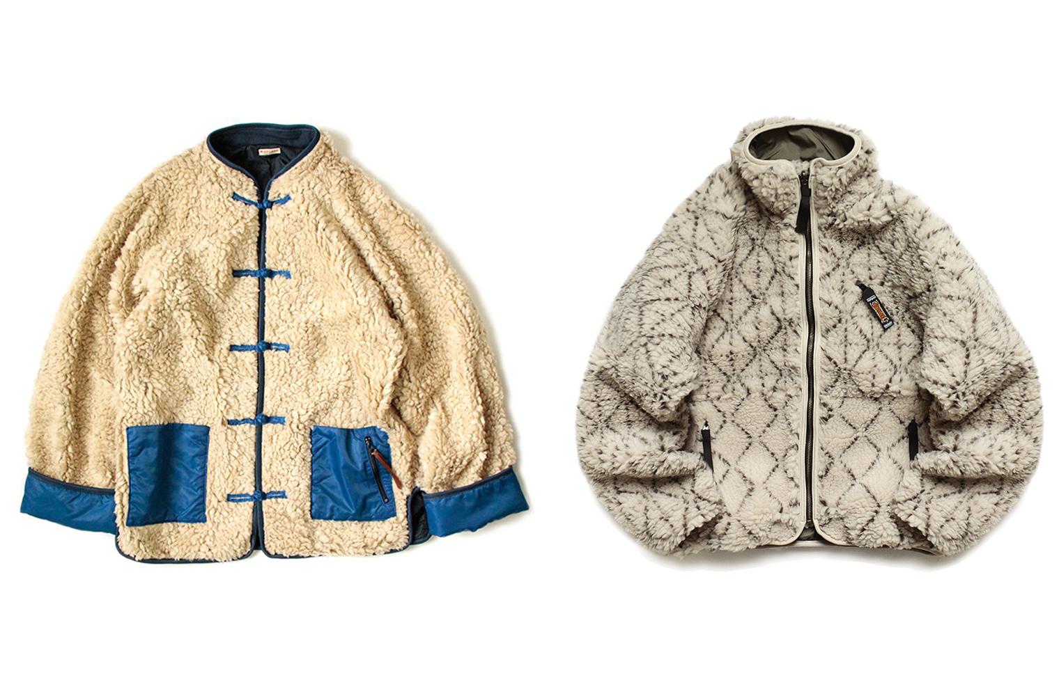 Флисовые куртки KAPITAL