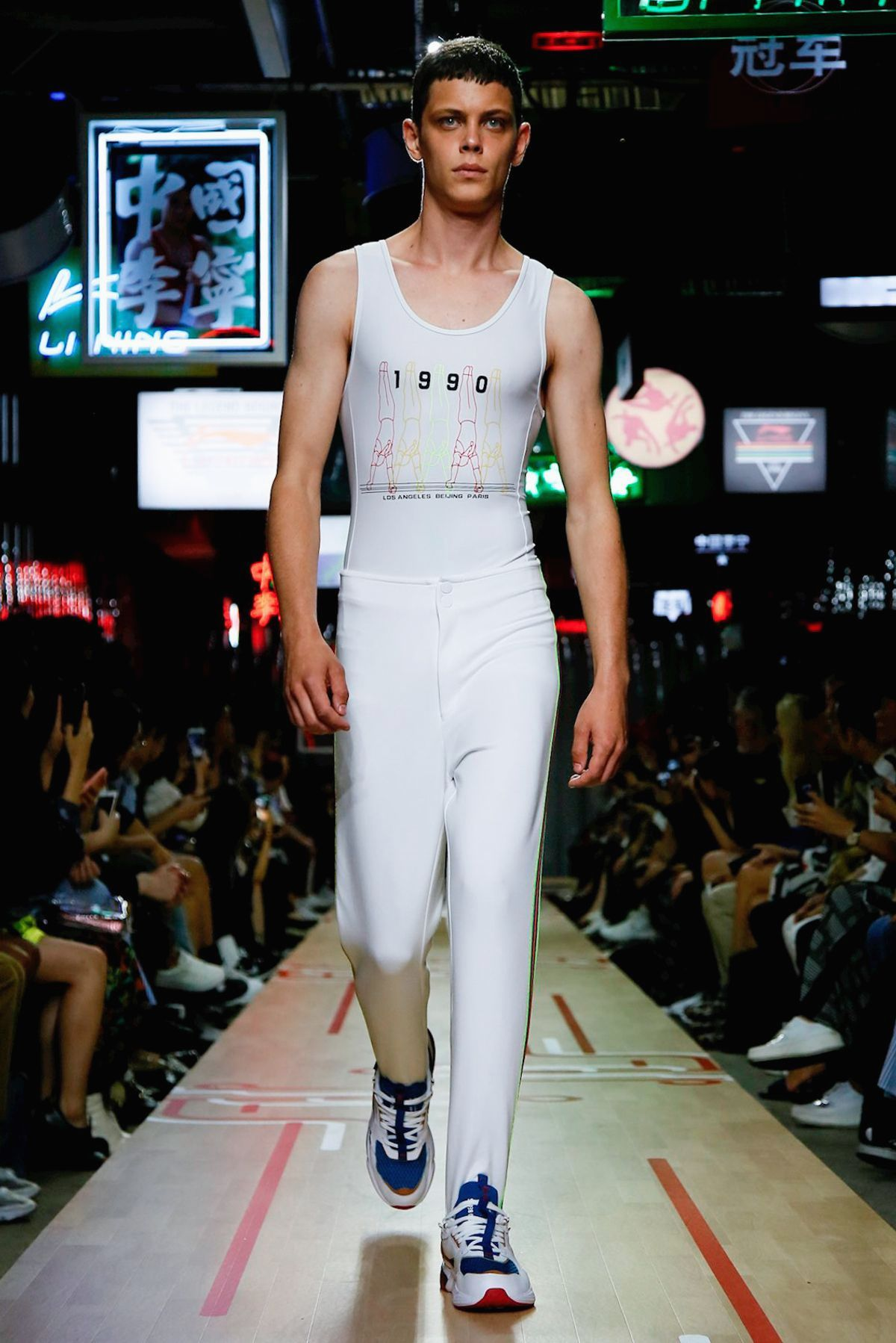 Li-Ning Spring/Summer 2019 Menswear