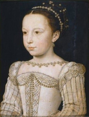 Екатерина Медичи в детстве, XVI век