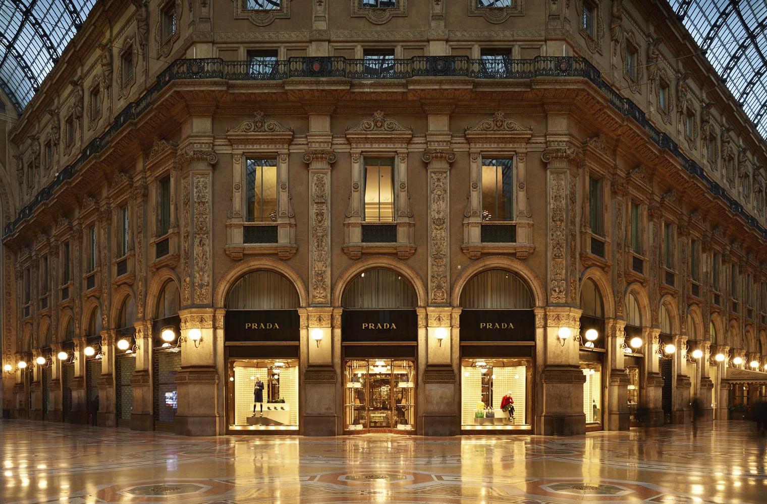 Первый бутик Prada открыт в 1913 году