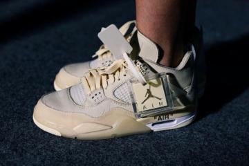Женские Off-White x Nike Air Jordan 4 «Sail» выйдут в июле этого года