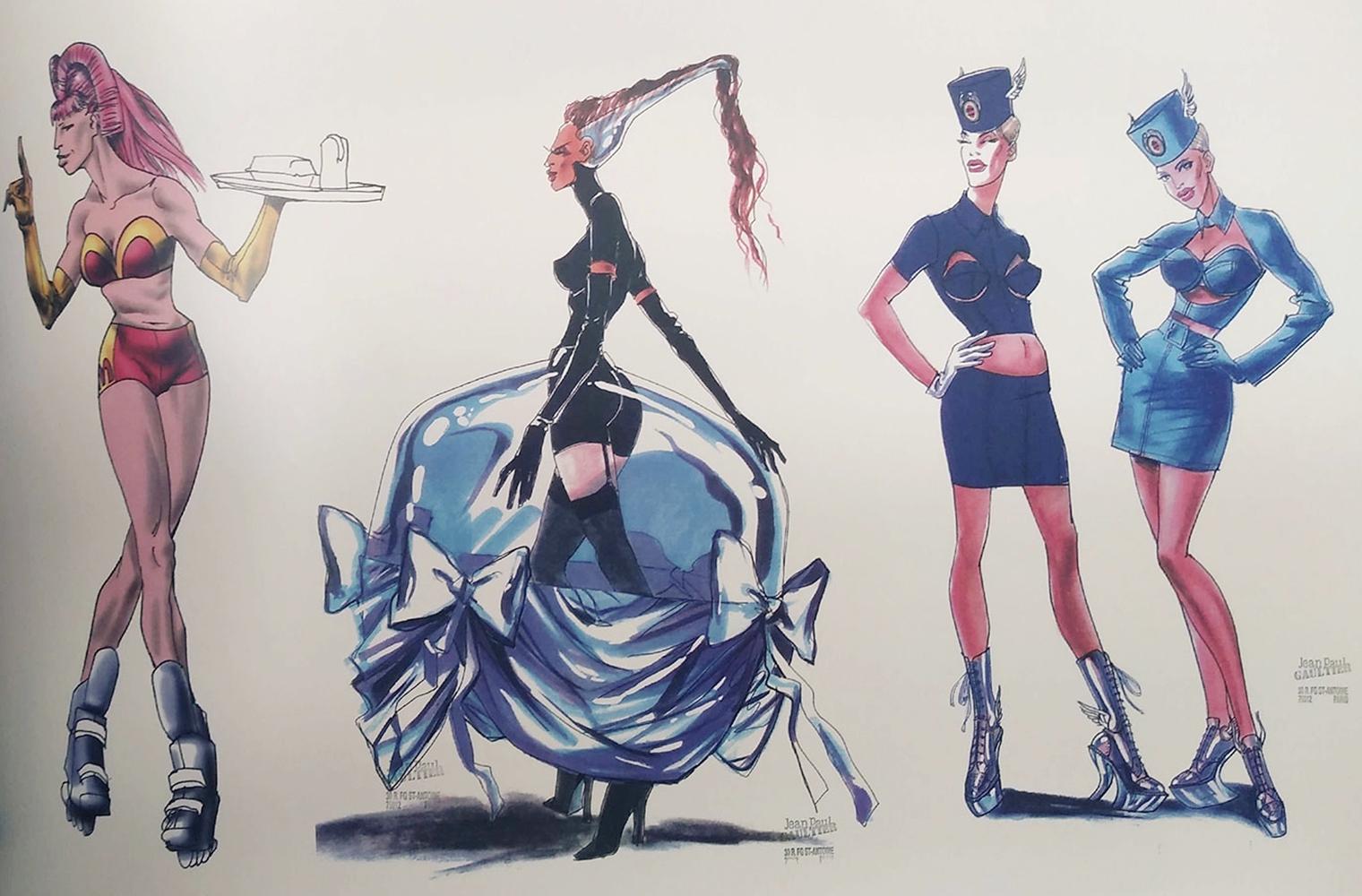 Жан-Поль Готье в роли художника по костюмам 5 элемент