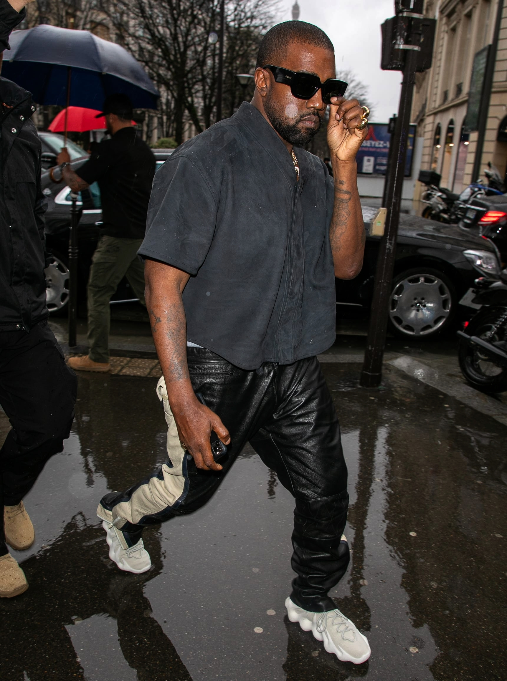 Канье Уэст в adidas Yeezy 451