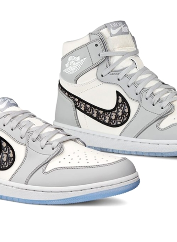 Dior x Nike Air Jordan 1 High и Low детали релиза