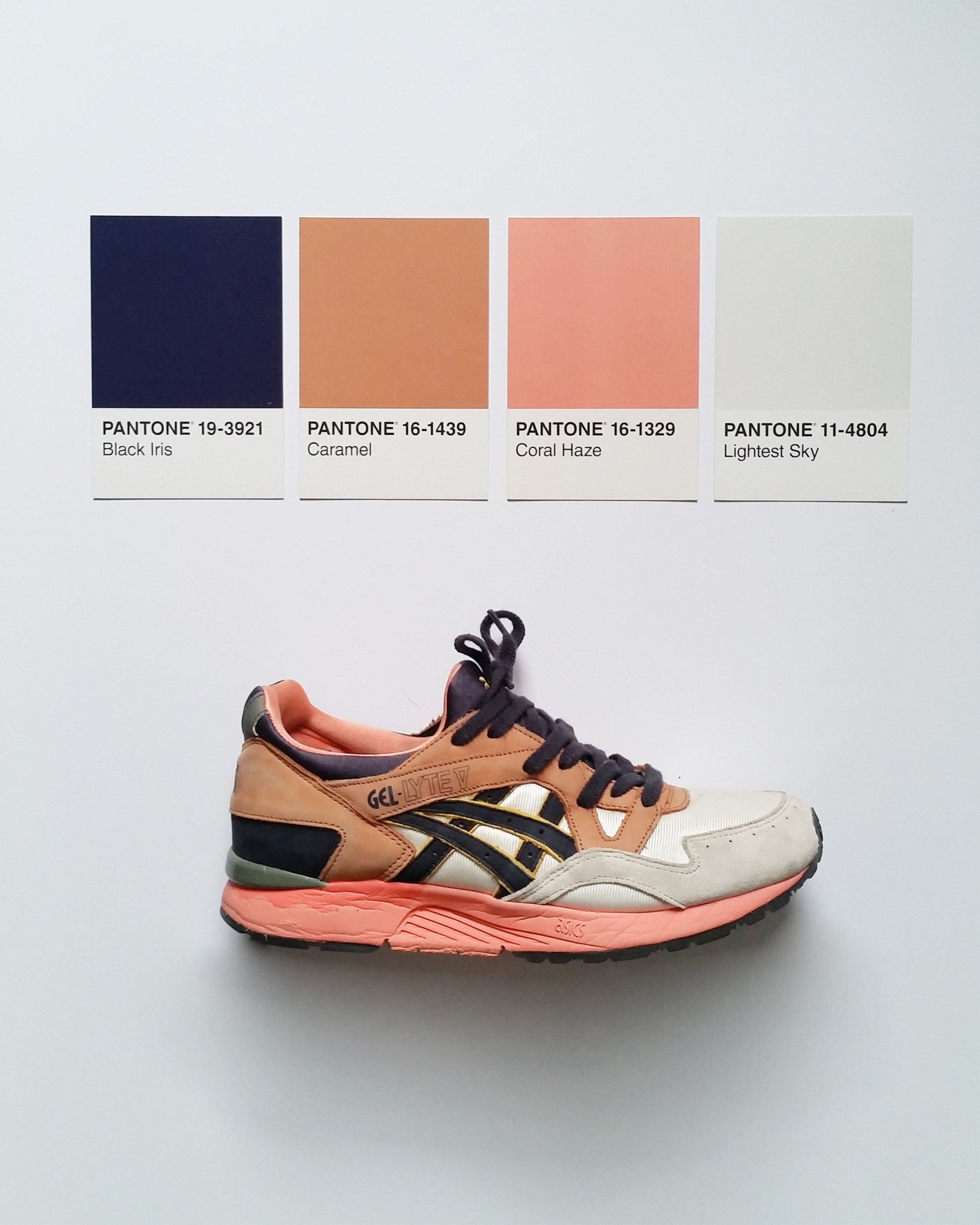 Кроссовки ASICS Gel-Lyte V UBIQ «Midnight Bloom» — цвета pantone