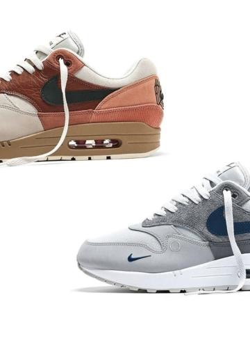 Nike Air Max 1 «London» и «Amsterdam» - подробности релиза