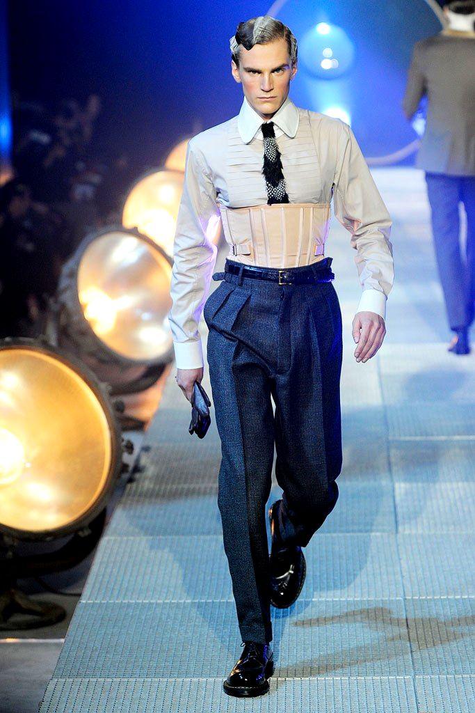 John Galliano Fall/Winter 2010 Menswear
