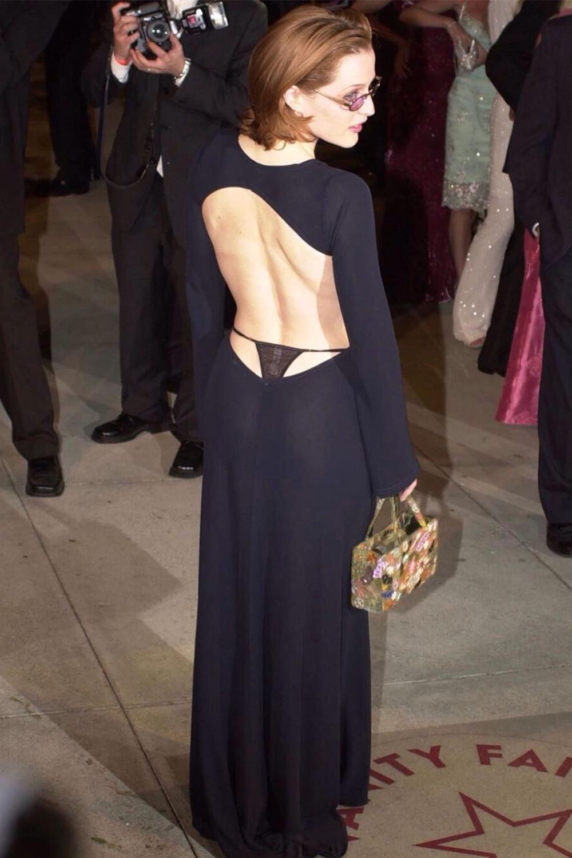 Джиллиан Андерсон на вечеринке Vanity Fair, 2001
