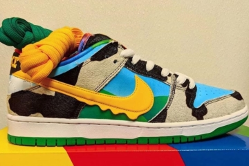 Ben&Jerry's x Nike SB Low «Chunky Dunky» детали релиза
