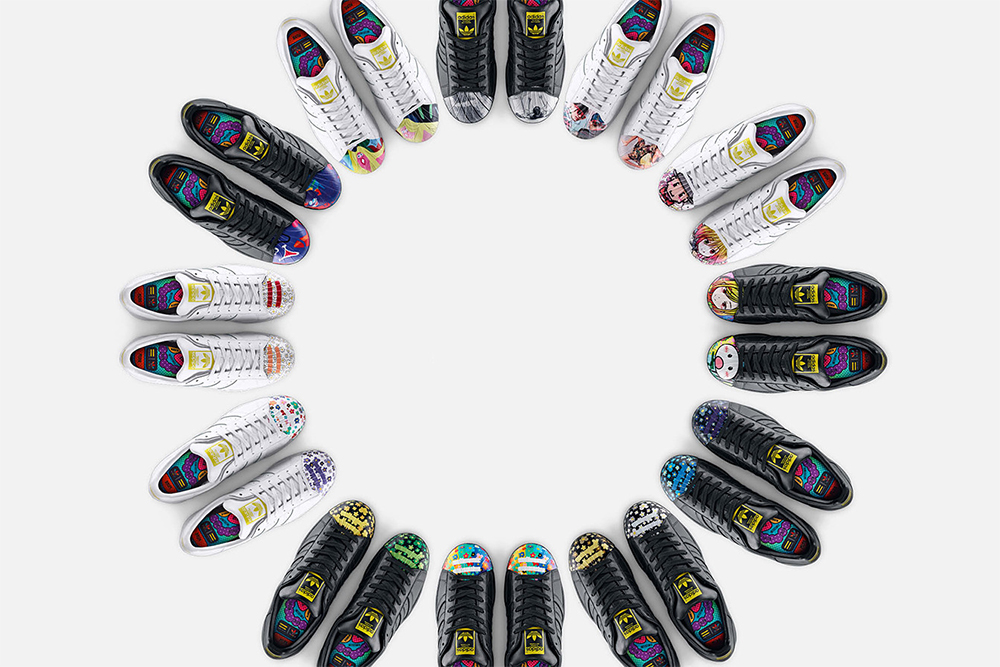 Pharrell Williams x adidas Superstar Supershell Artwork 2015