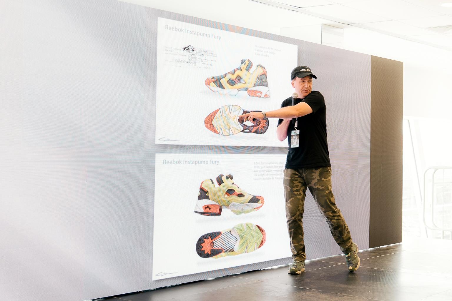 Стивен Смит представляет разработанные им Reebok Instapump Fury