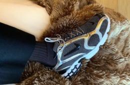 Stussy x Nike Zoom Spiridon Caged - первый взгляд на коллаборацию