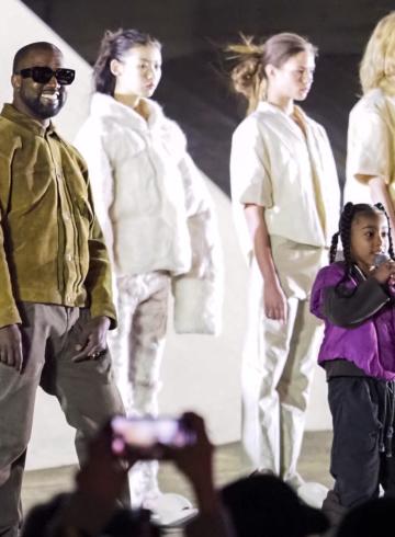 Yeezy Season 8 - презентация коллекции в Париже