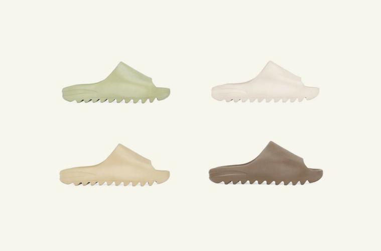 adidas Yeezy Slide - подробности релиза четырех расцветок