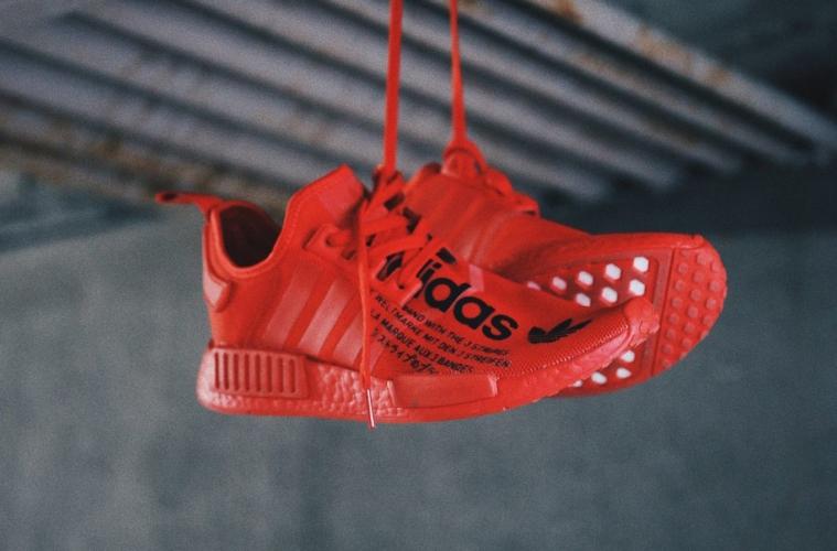 atmos x adidas NMD_R1 «Triple Red» детали релиза