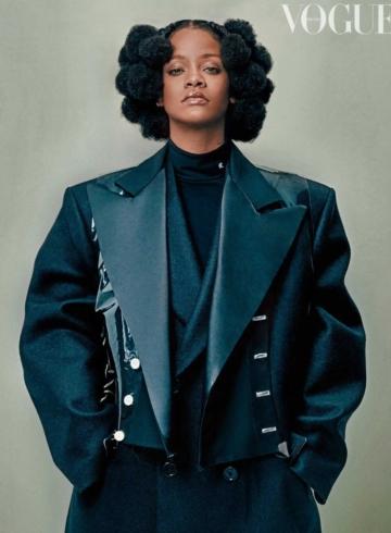 Интервью Рианны для Vogue UK