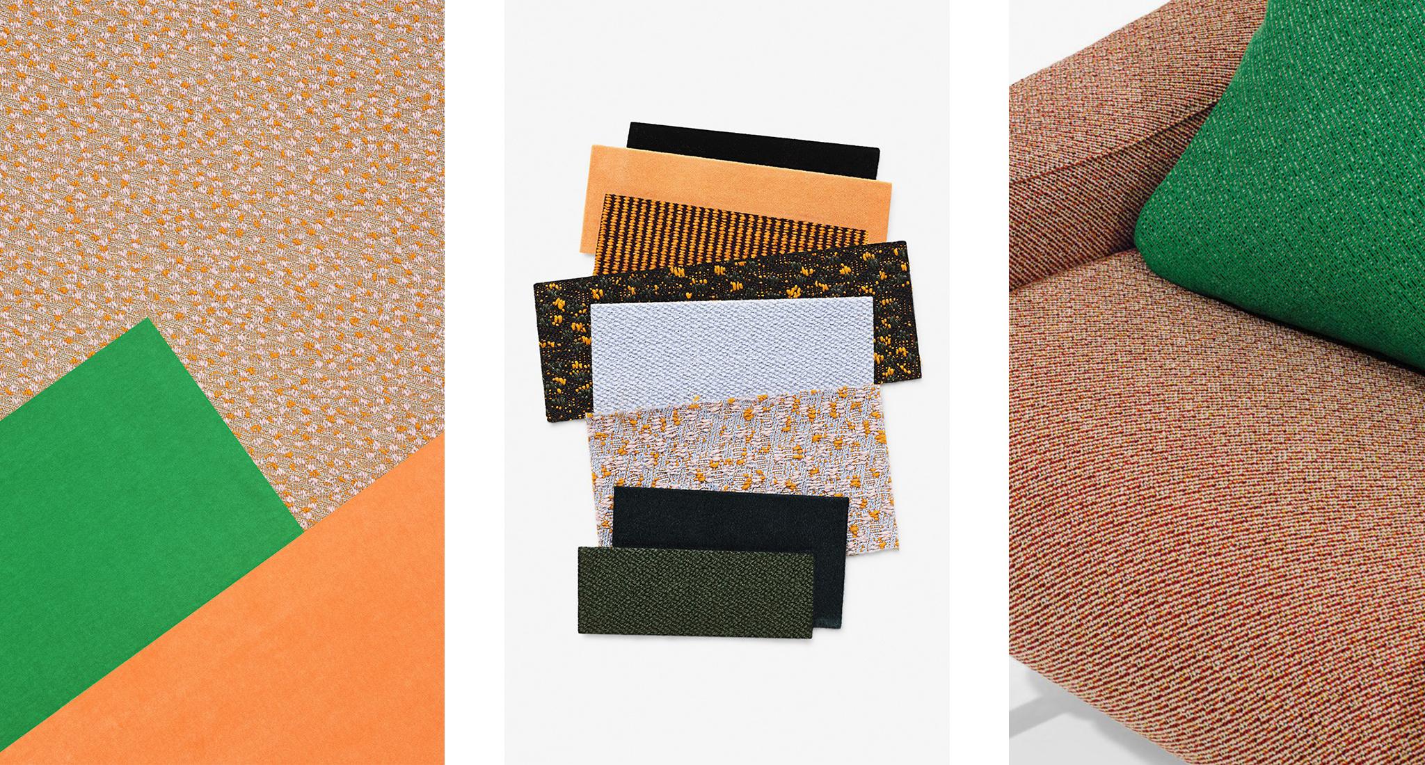 Раф Симонс и Kvadrat создали коллекцию тканей