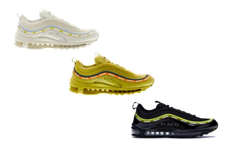 UNDEFEATED x Nike Air Max 97 - новые расцветки