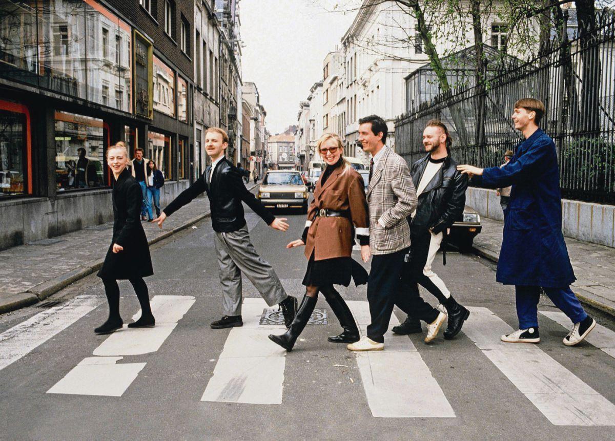 Антверпенская шестерка (Дрис Ван Нотен четвертый слева)