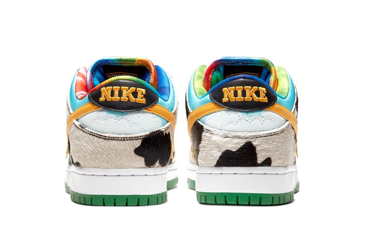 где купить Ben&Jerry's x Nike SB Low «Chunky Dunky»
