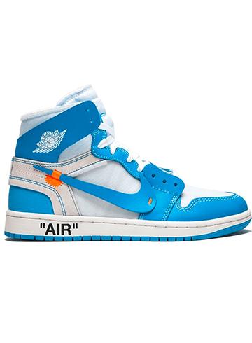 купить Off-White x Air Jordan 1 University Blue
