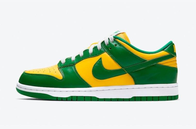Nike Dunk Low SP «Brazil» где купить